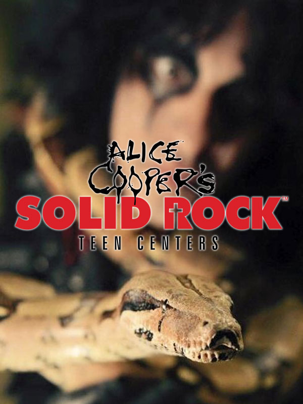 Alice Cooper's Solid Rock Teen Centers